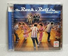 Time Life Rock 'N' Roll Era Vintage Hits CD 1998 Carl Perkins Ritchie Valens etc