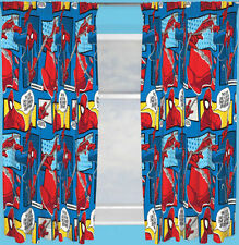 "Spider-Man 61"" - 80"" (153 cm - 203 cm) Curtains for Children"