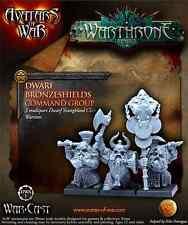 Avatars of War - Wargames BNIB Dwarf Bronzeshields Command Group