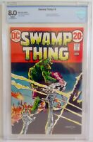 Swamp Thing #3 CBCS 8.0 1973 DC 1st Full Appear Patchwork Man +1st Appear Arcane