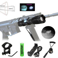 940nm 10W Zoom Focus Infrared IR LED Night Vision Flashlight Hunting Torch 18650