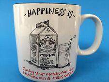 Missing Mother in Law on Milk Carton 10 oz Coffee Mug Funny Mom MIL Tea Cup Vtg