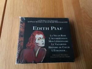 Édith Piaf - Gold Collection (1998) 2CD + 20 Page Booklet & Rare Photos - NEW