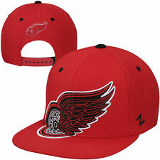 Zephyr Detroit Red Wings Scoundrel Snapback Adjustable Hat - Red - NHL