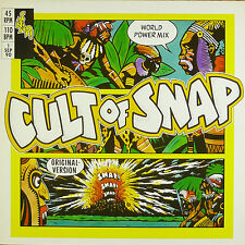 """12"""" Maxi - Snap! - Cult Of Snap (World Power Mix) - B72 - washed & cleaned"""