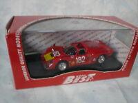 BEST MODEL 1/43 ALFA ROMEO 33.2 SPIDER TARGA FLORIO 1968 BAGHETTI/BISCALDI