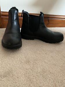 Skechers Peaked Black Boots Uk 8 US 10. Unworn. Please See Description.