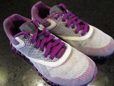 Womens Reebok Zignano Sport Sneakers Zigglam Gray/White/Purple Size 6