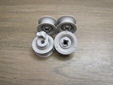 4 Korbrollen Rollen Räder Geschirrkorb Bosch Constructa Siemens Neff 00165313