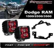 Rigid Radiance Pod Red 20202 & Fog Light Kit Fits 03-09 Ram 2500/3500