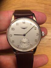Longines 50's oversize steel watch