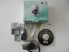 Canon PowerShot ELPH 500 HS 12.1 MP Digital Camera - Silver Made in Japan