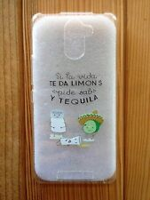 "Funda de silicona (case - cover) con frases para Iphone 6 / 6 S (6 - 4.7"")"