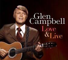 GLEN CAMPBELL - LOVE & LIVE 2 CD NEUF
