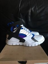 Nike Air Huarache Bball 2012 QS White/Black-Pure Platinum-Soar 501529-100 SZ 8.5
