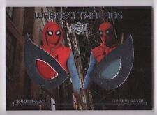 2017 Spider-man Homecoming costume card dual WTD-9 Spider-man