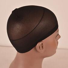 10pcs Invisible Black Wig Caps Elastic Hair Net Liner Cap Snood Nylon Mesh Aid