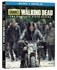 The Walking Dead Complete Sixth Season 6 Blu-ray+Digital +Lenticular Slip Cover