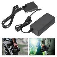 100-240V EN-EL14 Fully-Coded Dummy Battery  Case Power Coupler Adapter for Nikon