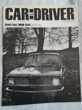 BMW 1600 road test by Car & Driver reprint brochure Feb 1967