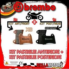 BRPADS-48875 KIT PASTIGLIE FRENO BREMBO PIAGGIO BEVERLY CRUISER 2008- 500CC [XS+