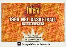 1996 Futera NBL (Australia Basketball) Trading Card Factory Box ( 40 pks)