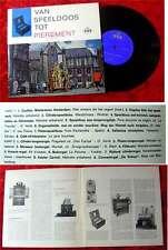 25cm LP Van Speeldoos tot Pierement (1963)