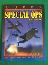 SPECIAL OPS - 3RD ED - GURPS RPG BOOK 6029 - 2002 STEVE JACKSON GAMES