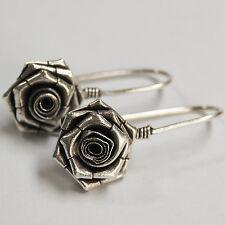 97-98% silver nice Earrings Karen hill tribe