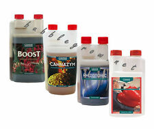 CANNA 1L COMBO - BOOST ACCELERATOR + CANNAZYM + RHIZOTONIC + PK 13-14 ADDITIVES