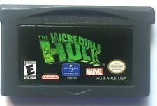 Gameboy Advance Game Plays on GBA SP DS DSL ~ THE INCREDIBLE HULK ~ 30 Levels