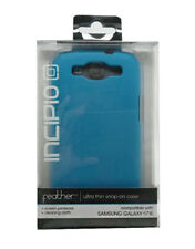 Genuine Incipio Feather Ultra Thin Snap on Case Cover For Samsung Galaxy S3 Blue