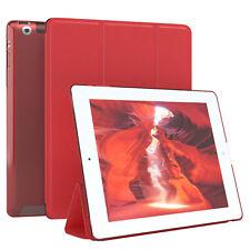 """Für Apple iPad 2 iPad 3 iPad 4 Hülle 9.7"""" Schutzhülle Tablet Tasche Case Rot"""