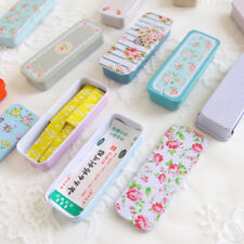 Rectangular Slide Cover Wedding Suger Pill Cases Portable Cute Container Fashion