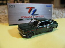 tomica Nissan Datsun Sunny Coupe series B110 1200GX tomy green diecast