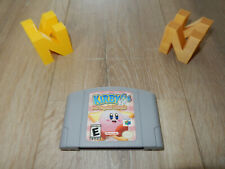 NTSC-US N64: Kirby 64: The Crystal Shards loose game Nintendo 64 USA