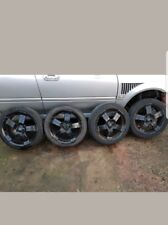MG ZS / ZS / Rover / Mini 17 inch 4 stud alloy wheels and tyres