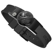 ProExl Magnetic Bracelet for Golf Black Crossed Clubs Detachable Marker
