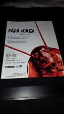 Papa Roach Last Resort Rare Original Radio Promo Poster Ad Framed!