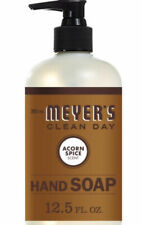 Mrs. Meyer's Clean Day Limited Edition Acorn Spice 12.5oz Hand Soap / NEW