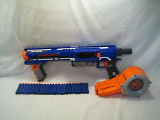 Nerf N-Strike Elite Rampage Blaster Dart Gun with 25 Round Drum & 25 darts! 2012