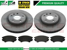 FOR VAUXHALL INSIGNIA 1.6T 2.0T 2.0 CDTi 08-14 FRONT BRAKE DISCS PADS SET 321mm
