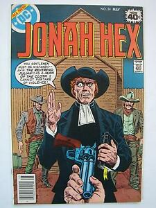 Jonah Hex #24 (May 1979, DC) [VF+ 8.5]
