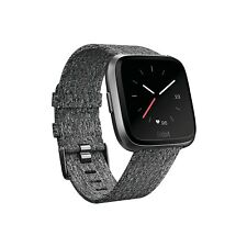 Fitbit - Versa Special Edition - Woven Charcoal - New in Box - One Size