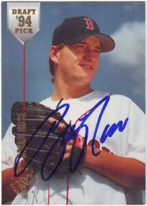 1994 Stadium Club Brian Rose #35 Auto Autograph - Boston Red Sox