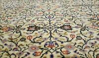 Rare Antique 1930-1939s Wool Pile 7x10ft Natral Dyes Legendary Hereke  Rug