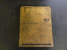Caterpillar CAT D8R Track-Type Tractor Parts Manual  SEBP2439-02  1998 Vol I
