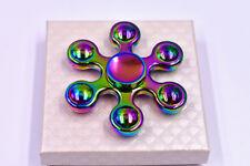 EDC Hand Fidget Spinner Aluminum Bearing Desk Toy Gyro for Kids Adult Focus US #6