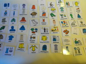 Board maker clothing 60 pec cards with display strip
