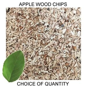 Quality Apple Wood Chips for Smoking Ovens, Smoker Dust - All Sizes - FAST POST